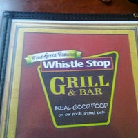 Photo taken at Whistle Stop Grill & Bar by Kellie L. on 3/26/2012