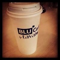 Photo taken at Blu Cafe by @JPSmithNYC on 4/11/2012