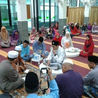 Photo taken at Masjid Al-Mukminun by Faiz A. on 8/31/2012