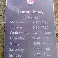 Photo taken at Central Library by Michael C. on 8/8/2012