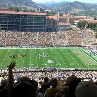 Photo taken at Folsom Stadium Club Level - UCB by Brandon J. on 9/8/2012