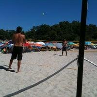 Photo taken at Armenistis Beach by Giorgos N. on 7/22/2012