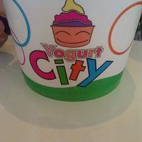 Photo taken at Yogurt City by Chris C. on 7/24/2012