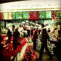 Photo taken at Marché Jean-Talon by jaclyn t. on 3/24/2012