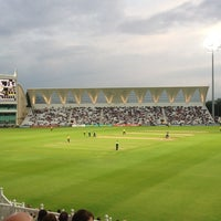 Photo taken at Trent Bridge Cricket Ground by Andrew T. on 7/5/2012