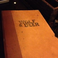 Photo taken at Wolf & Deer by Zack D. on 5/14/2012