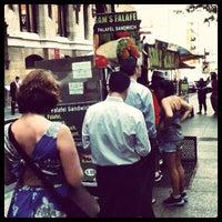 Photo taken at Sam's Falafel by Evan R. on 7/10/2012