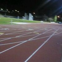 Photo taken at UCLA Drake Track & Field Stadium by Kyunglag K. on 2/6/2012