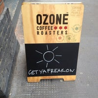 Photo taken at Ozone Coffee Roasters by Chris A. on 6/29/2012