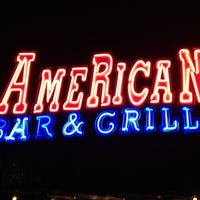 Photo taken at American Bar & Grill by Alex T. on 9/13/2012