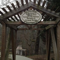 Photo taken at Old Mill Park by Eren B. on 2/10/2012