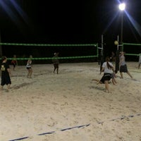 Photo taken at VFW Sand Volleyball by Andy G. on 8/11/2012