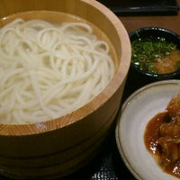 Photo taken at Marugame Seimen by Masahito M. on 7/28/2012