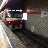 Photo taken at Sengakuji Station by takumi m. on 7/20/2012