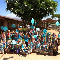 Photo taken at Kamali'i Elementary Hm of The Pueo by Yvonne B. on 5/23/2012