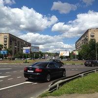 Photo taken at Площадь Ромена Роллана by Жека С. on 6/30/2012