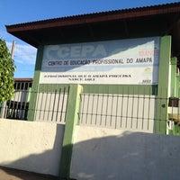 Photo taken at Centro de Educação Profissional do Amapá - CEPA by Antonia C. on 6/5/2012