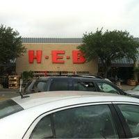 Photo taken at H-E-B by Jorge Davis L. on 4/29/2012