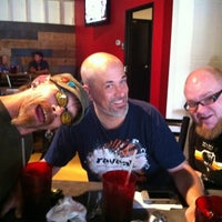 Photo taken at Mangia Pizza by Eric B. on 8/27/2012