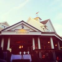 Photo taken at Stonebridge Restaurant & Bar by Ryan M. on 5/18/2012
