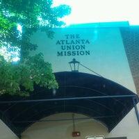 Photo taken at Atlanta Mission - The Shepherd's Inn by Geechie G. on 5/24/2012