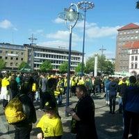 Photo taken at Friedensplatz by Alexander E. on 5/13/2012