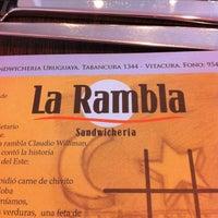 Foto tomada en La Rambla por Andrea H. el 6/10/2012