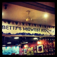 Photo taken at Betty's Midwest Kitchen by Justin Y. on 5/5/2012