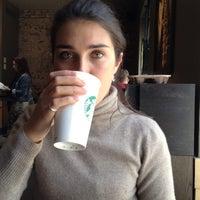 Photo taken at Starbucks by Анастасия Т. on 4/2/2012