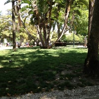 Photo taken at Jardim do Príncipe Real by David N. on 7/14/2012