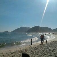 Photo taken at Praia de Grumari by julianna m. on 2/3/2012