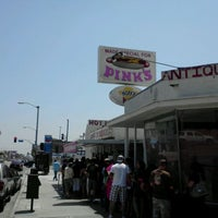Photo taken at Pink's Hot Dogs by Frankie F. on 5/6/2012