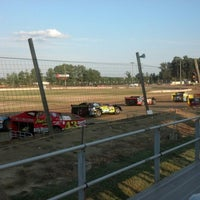 Photo taken at Delaware International Speedway by Tanya R. on 7/28/2012