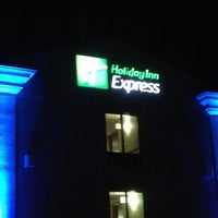 Photo taken at Holiday Inn Express & Suites Hagerstown by Andrew H. on 6/25/2012