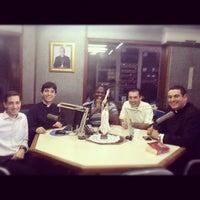 Photo taken at Rádio Catedral by Leonardo G. on 8/4/2012