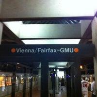 Photo taken at Vienna/Fairfax-GMU Metro Station by Vahid O. on 6/7/2012