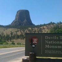 Photo taken at Devils Tower National Monument by Evan B. on 6/29/2012