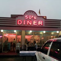 Photo taken at 50's Diner by Ernison P. on 5/27/2012