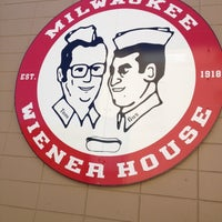Photo taken at Milwaukee Wiener House by Lexi K. on 3/9/2012