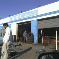 Photo taken at Roll Rite Tires by Cheryl R. on 3/29/2012