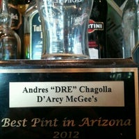 Photo taken at D'Arcy McGee's by Dre C. on 4/19/2012