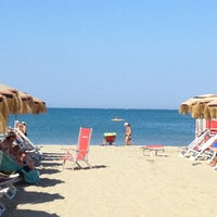 Photo taken at Bagno Delfino by Antonio P. on 8/19/2012