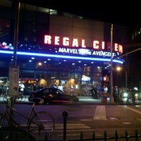 Photo taken at Regal Cinemas Union Square 14 by Ariane D. on 5/8/2012