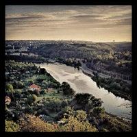 Photo taken at Vyhlídka na Troju (Bohnice) by Martin R. on 8/17/2012