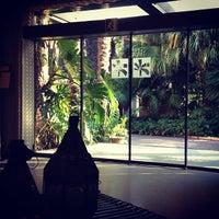 Photo taken at Hotel Huerto del Cura by Daniel R. on 7/14/2012