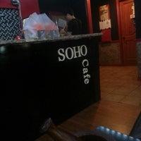 Photo taken at Cafe Soho by J L. on 8/1/2012