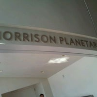 Photo taken at Morrison Planetarium by Rjahja C. on 4/5/2012