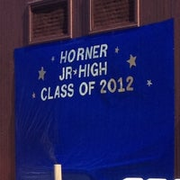 Photo taken at Horner Jr. Highschool by Jessica O. on 6/13/2012