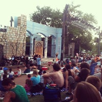 Photo taken at Beverly S. Sheffield Zilker Hillside Theater by Andi N. on 7/29/2012