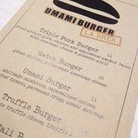 Photo taken at Umami Burger by Chris S. on 4/11/2012